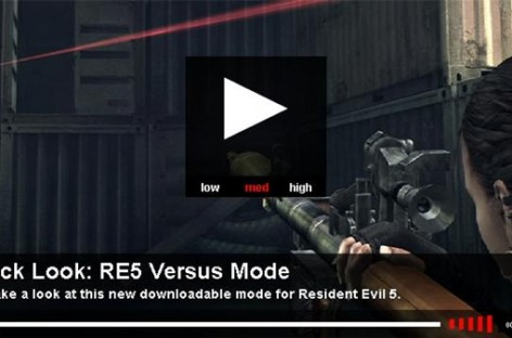 GiantBomb Takes A Look at Resident Evil 5's Paid Versus Mode, And Its Pretty Poopy