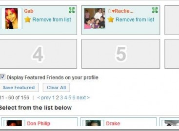 Picking out Friendster's Featured Friends is the Most Awesomest Thing Ever. (Not)