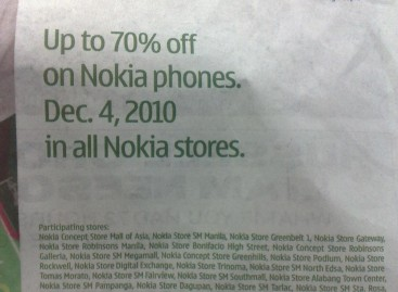 Nokia Sale On Dec 4: Up To 70% Off!