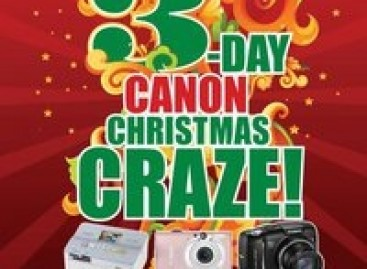 Canon Cameras' 3-Day Sale This Weekend!