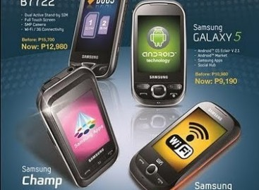 Samsung Touch Phones Getting Price Slash