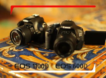 Canon Introduces the EOS 600D and the 1100D