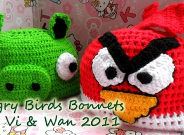 Angry Birds You Can Wear On Your Head