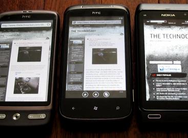 HTC Desire vs. HTC 7 Mozart vs. Nokia N8