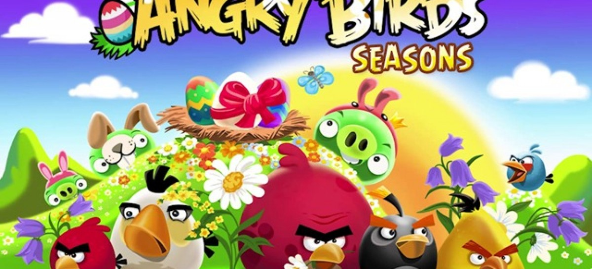 Angry Birds Seasons Gets Easter Update