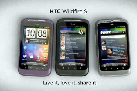 HTC Wildfire S Coming Out Next Month Too