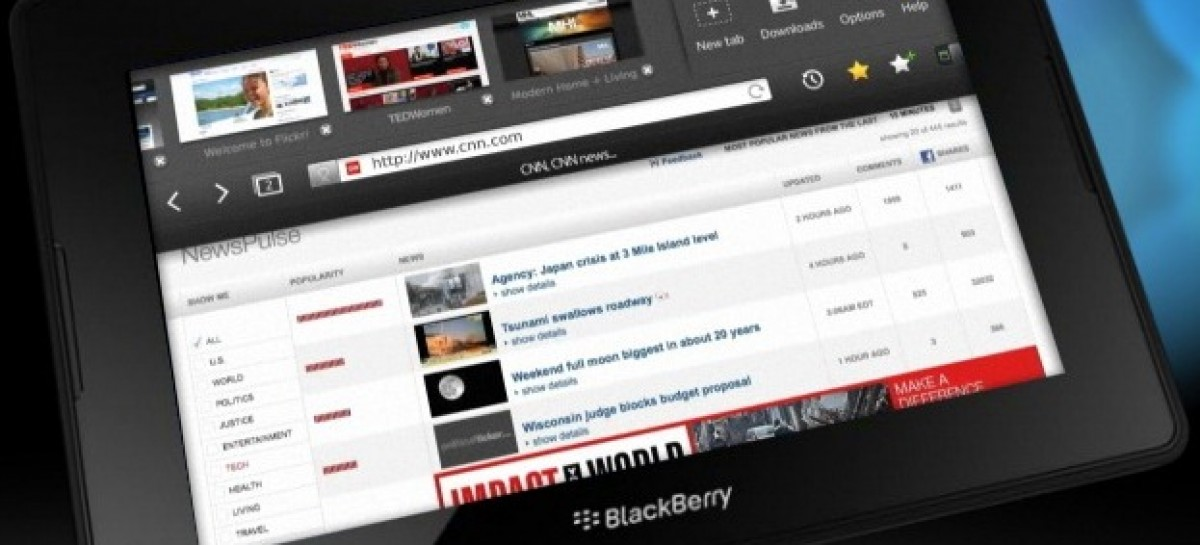 Sad News At RiM: BlackBerry PlayBook Ships 500k, Profits Down, Layoffs