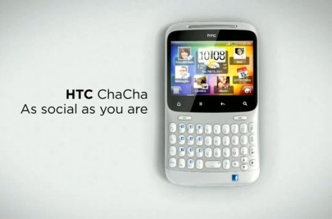 HTC ChaCha Headed For SMART; Brings Facebook Button