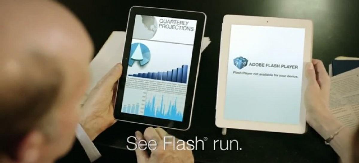 Galaxy Tab 10.1 Pokes Fun At iPad 2 With YouTube Ad