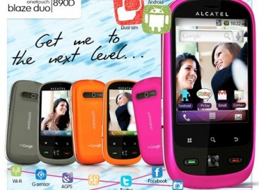 Alcatel Blaze 890D–Another Low Spec Dual-SIM Android For Under 5K