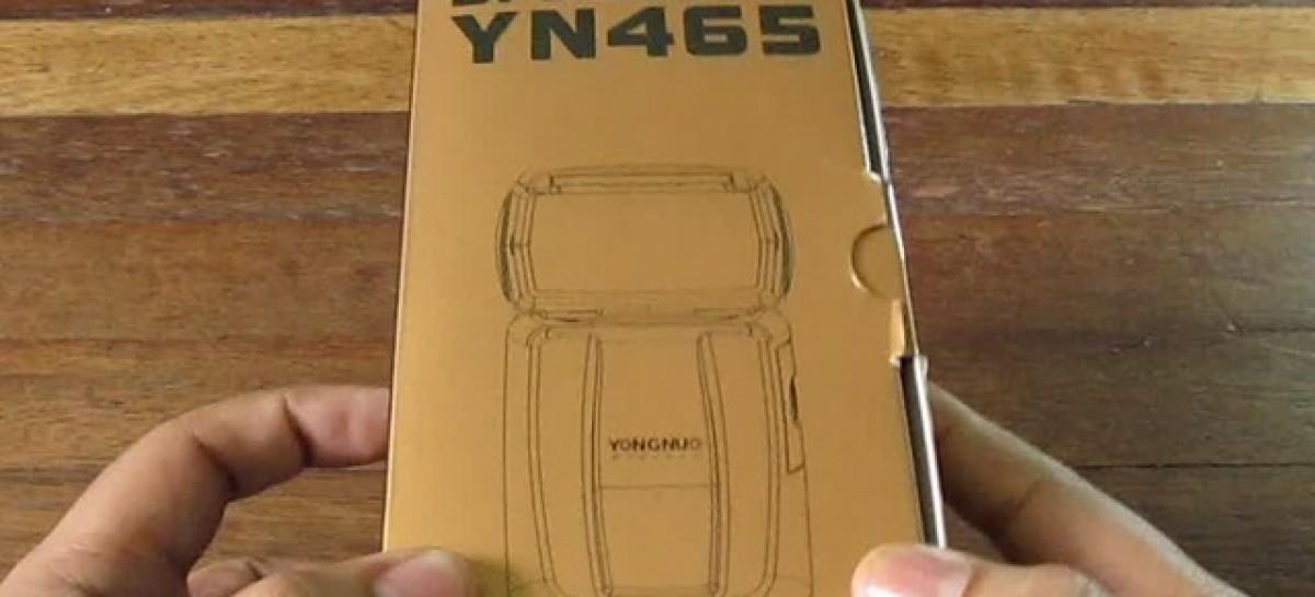 Yongnuo Speedlite YN465 Unboxing