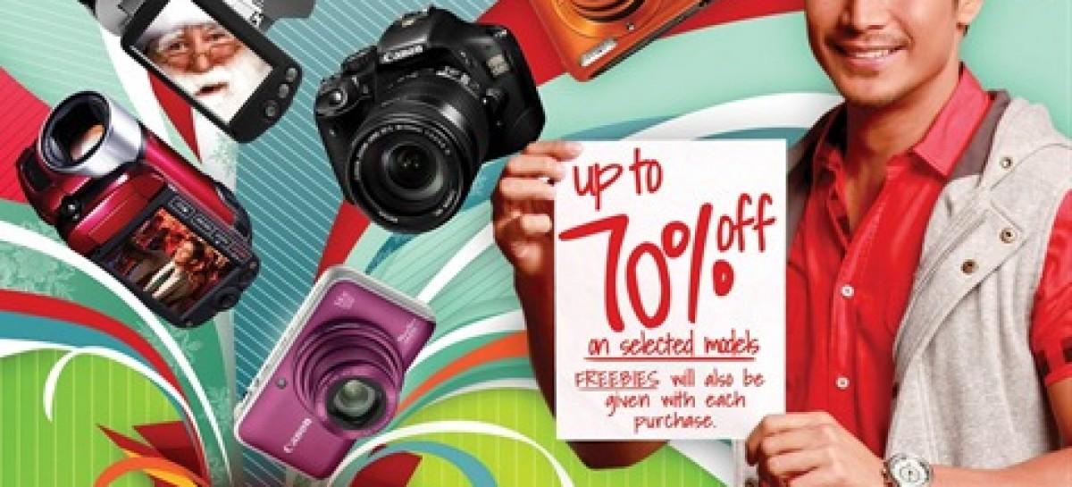 Canon 3-Day Sale At Tiendesitas Next Weekened–Up To 70% Off Plus Freebies