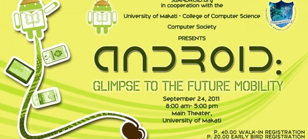 Calling Budding Devs! Android: Glimpse The Future Of Mobility Seminar Will Be On Sept 24