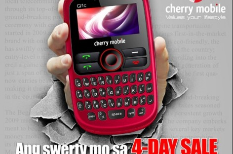 Cherry Mobile Q1c Sale–PHP 999 For A QWERTY Dual-SIM Phone (SRP PHP 1,299)