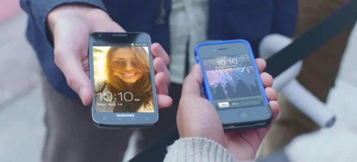 Oh Snap! Samsung Pokes Fun At Apple (Again)–This Time With Galaxy S2 & iPhone4S