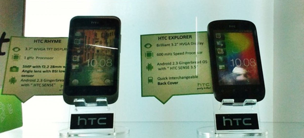 HTC Explorer Spotted In The Wild With HTC Rhyme–Available For PHP 10.5k & PHP 21.5k