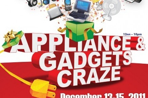 Check Out Appliance & Gadgets Craze–World Trade Center Until Today; Bazaar Ends Dec 18