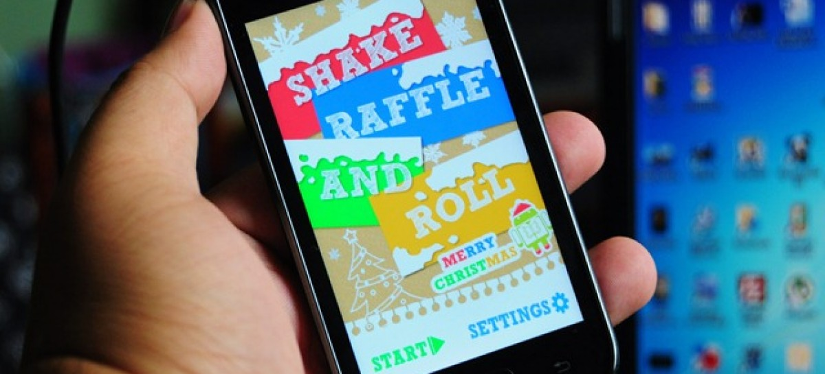 Having A Raffle At Your Holiday Party? Use ShakeRaffleRoll From JuanDroid.Org–Free!