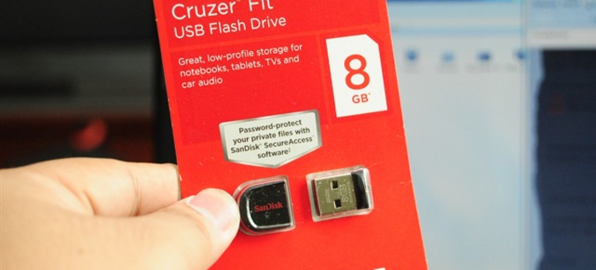 The SanDisk Cruzer Fit 8GB USB Stick Unboxing; And A Tale Of MURDER! (Video)