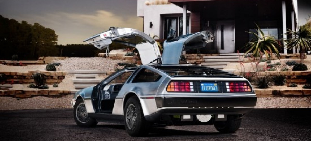 Great Scott! DMC Announces Electric DeLorean–Marty McFly Never Felt Happier