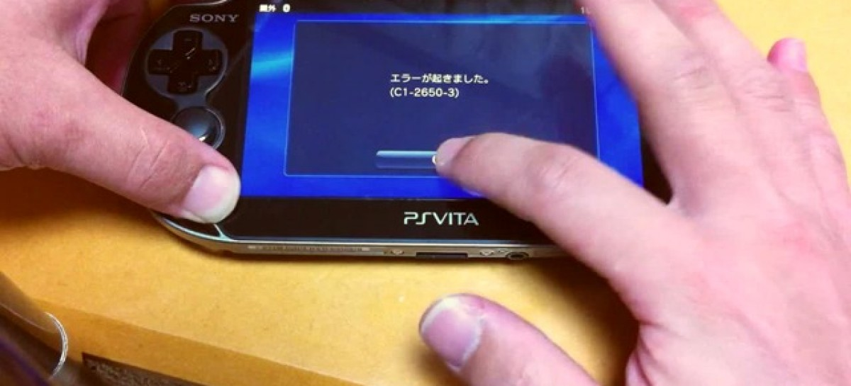 "Early PS Vita Users Report Lockup Problems; Sony's Like, ""Our Bad! We'll Get It Patched!"""