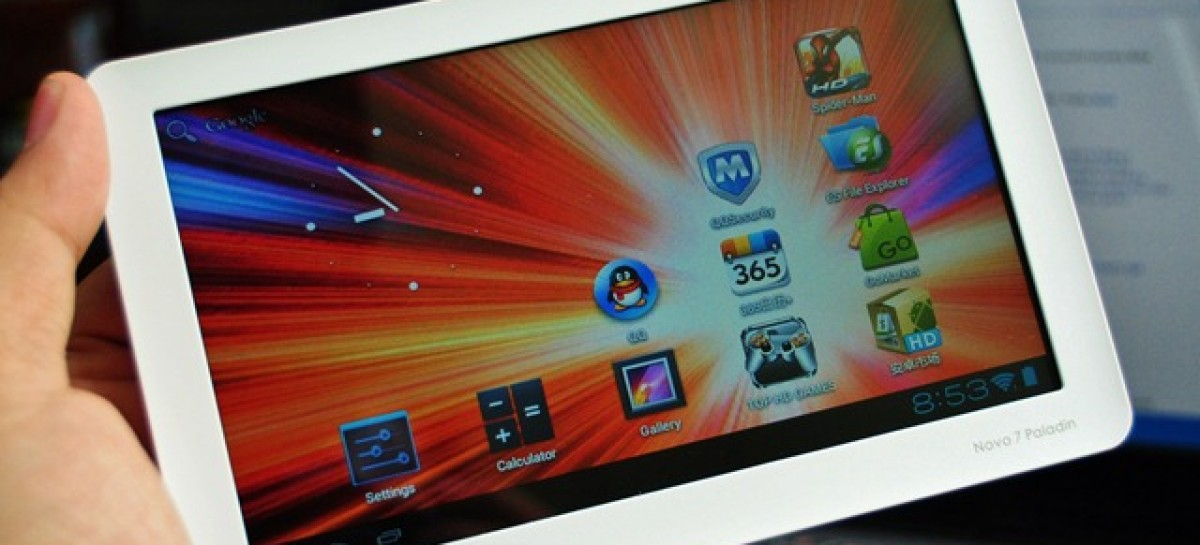 Ainol Novo 7 Paladin Unboxing–World's First Android 4.0 ICS Tablet For Only PHP 5,800