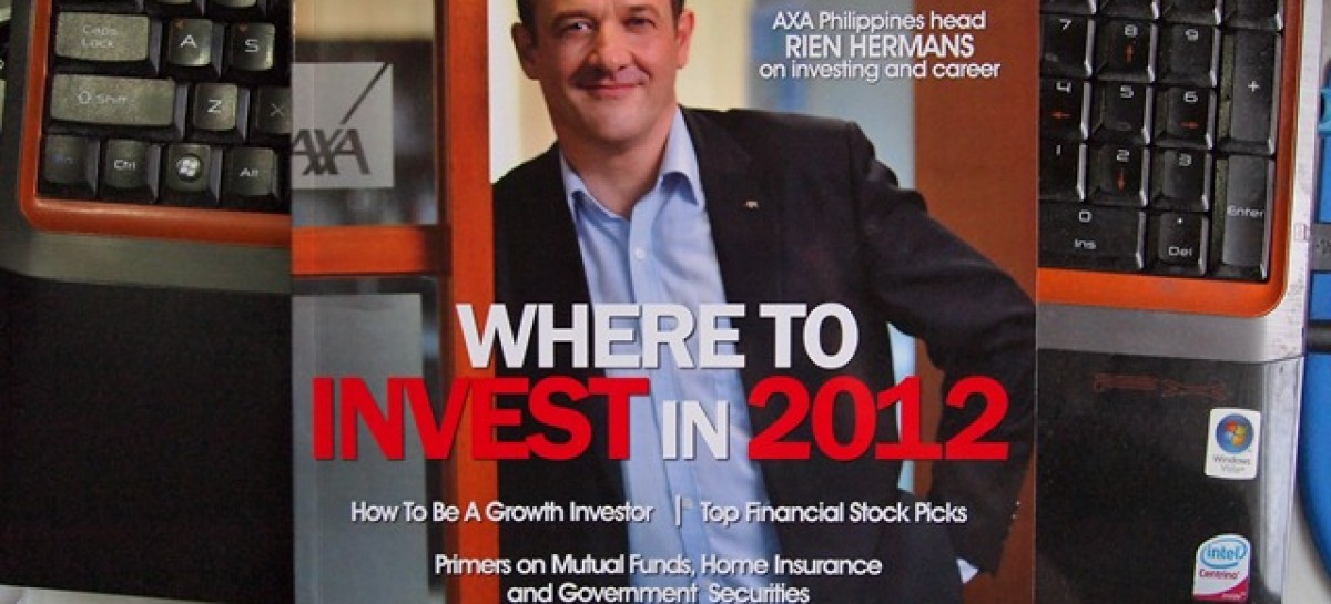 Grab A Copy Of MoneySense Jan-Feb 2012 Edition Today; Why? Because We're In It!