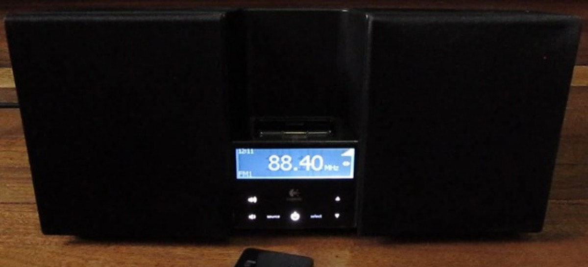 Logitech AudioStation Unboxing–Slightly Older iPod Dock; Good Features Though
