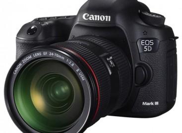 Canon Announces The EOS 5D Mark III–New Full Frame DSLR With 22.3 Megapixel Sensor