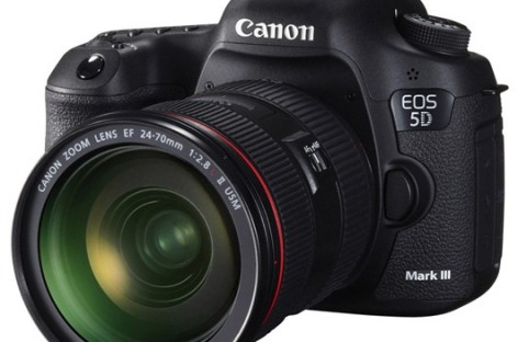 Canon Announces The EOS 5D Mark III–New Full Frame DSLR With 22.3 Megapixel Sensor