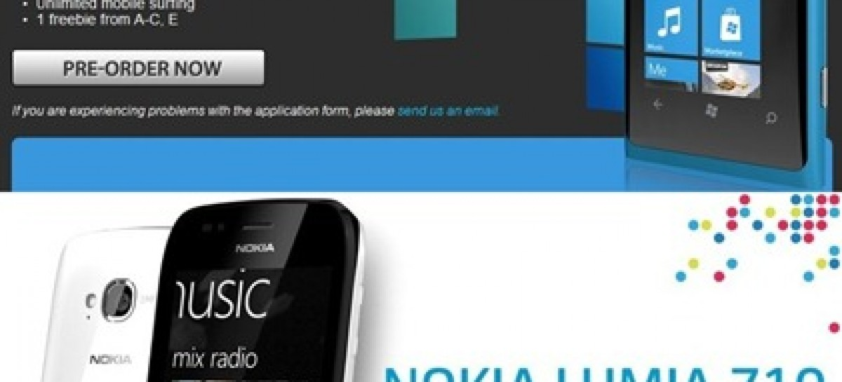 The Nokia WP7 Devices Are Here! Globe Has The Lumia 800; Smart Has The Lumia 710