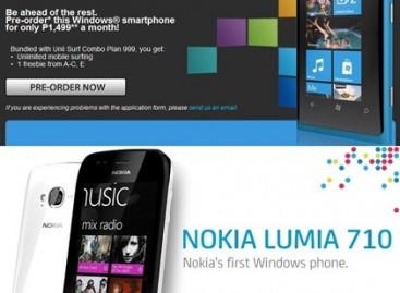 The Nokia WP7 Devices Are Here! Globe Has The Lumia 800; Smart Has The Lumia 710