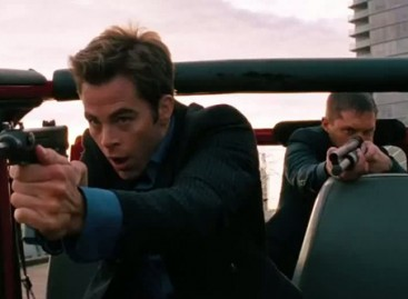 "Captain Kirk Vs. That Guy From Inception In New Romantic Comedy ""This Means War"""