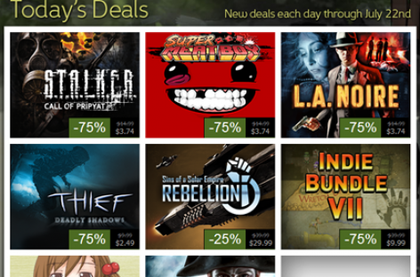 Massive Steam Summer Sale Going On Right Now–Awesome Games For Up To 50-90% Off