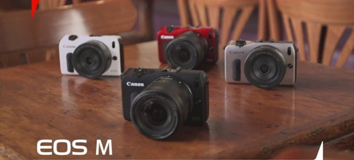 Canon Finally Announces The EOS M–18MP Mirrorless ILC With An APS-C Sized Sensor