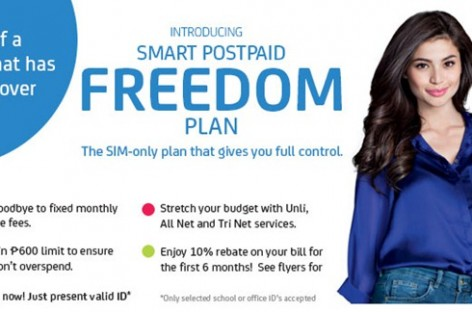 Smart Launches The Freedom Plan–A Zero Minimum, No Lock-In, Easy-To-Get Postpaid