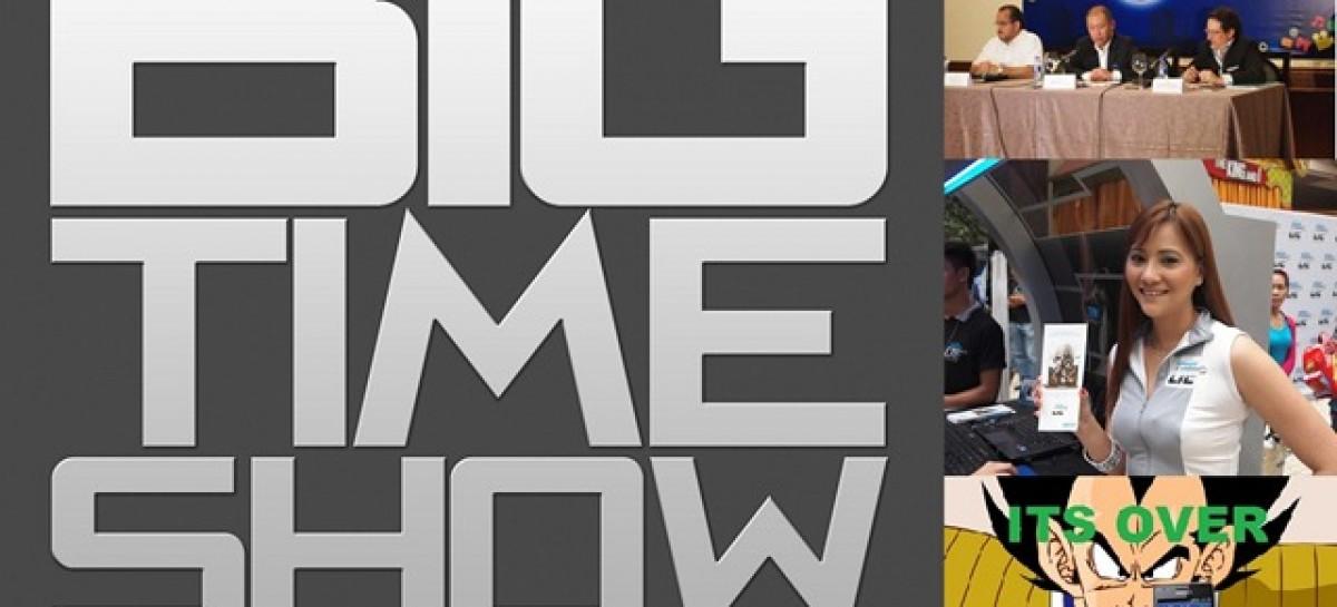 Big Time Show (8/26/2012) – Globe vs. Smart LTE, Apple vs. Samsung, & Special Guest!