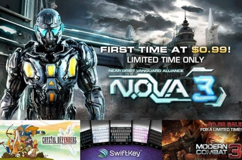 Android End Of Summer Sale–NOVA 3, Crystal Defenders, & Modern Combat 3 For PHP40-50