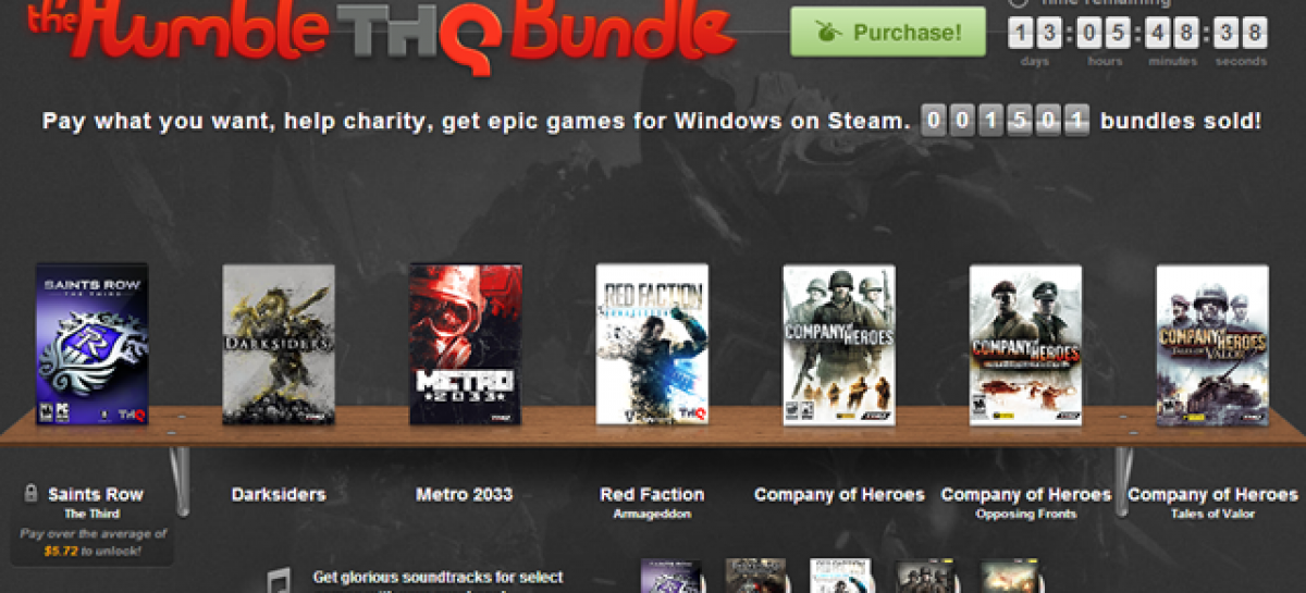 Humble THQ Bundle Is Out–Pay Whatever You Want For Darksiders, Red Faction, & More!