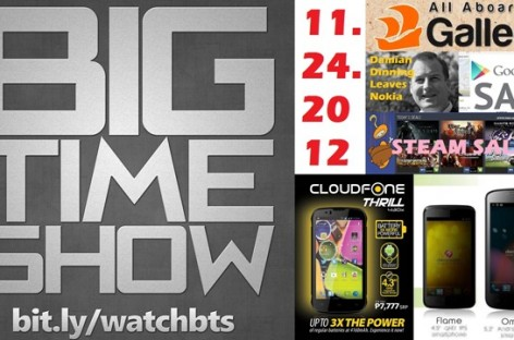 BTS (11/24/2012)–Galleon.PH, Cloudfone Thrill 430x (4160mAh Battery!), & More!