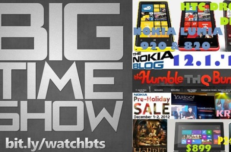 BTS 12/01/2012–Nokia Blog With Mark Guim, Nokia Sale, Nexus 4 & 10 Availability, & More!