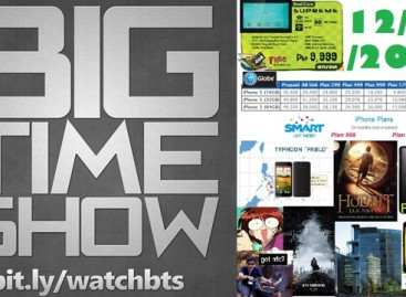 BTS 12/8/2012–#BTSiPhone5 vs. Smart vs. Globe (LTE?), Cherry Mobile Tablets & More!