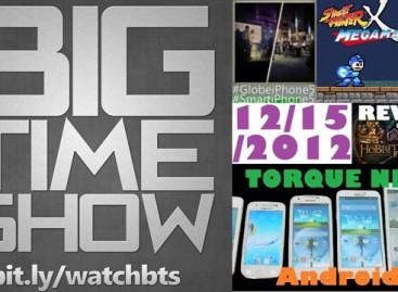 BTS 12/15/2012–Torque Next Droids, Hobbit Review, BTS Awards Announcement, & More!