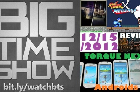 BTS 12/15/2012–Torque Next Droids, Hobbit Review, BTS Awards Announcement, & More!