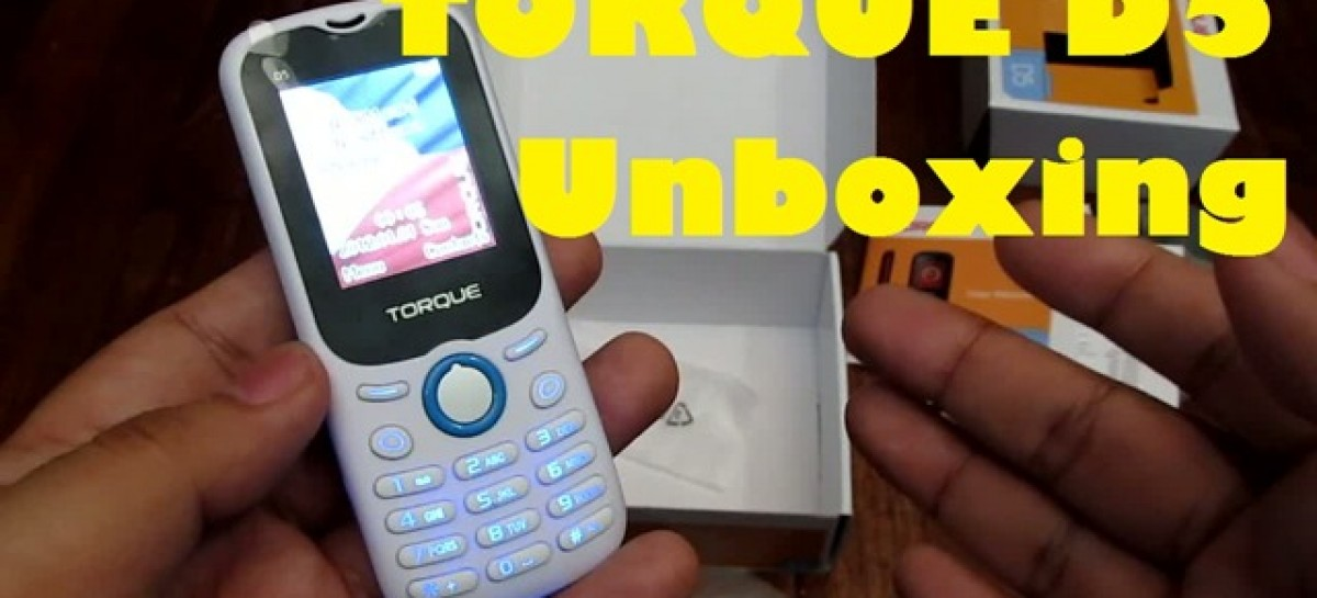 Torque D5 Unboxing–Entry-Level Phone With Camera, MP3 Player & FM Radio For PHP 777