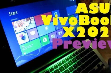 ASUS VivoBook X202E Preview–Affordable Windows 8 Touchscreen Laptop For PHP 21k