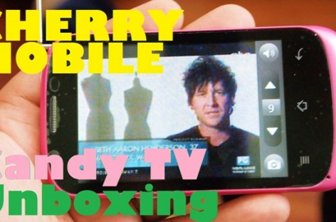 Cherry Mobile Candy TV Unboxing–1Ghz Single-Core Android With TV For PHP 3,299