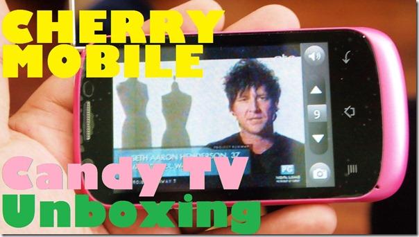 cherrymobilecandytvunboxing