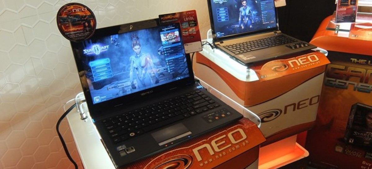 NEO Launch New Élan Gaming Laptops–Intel & NVIDIA-Powered Notebooks For PHP 25-71k