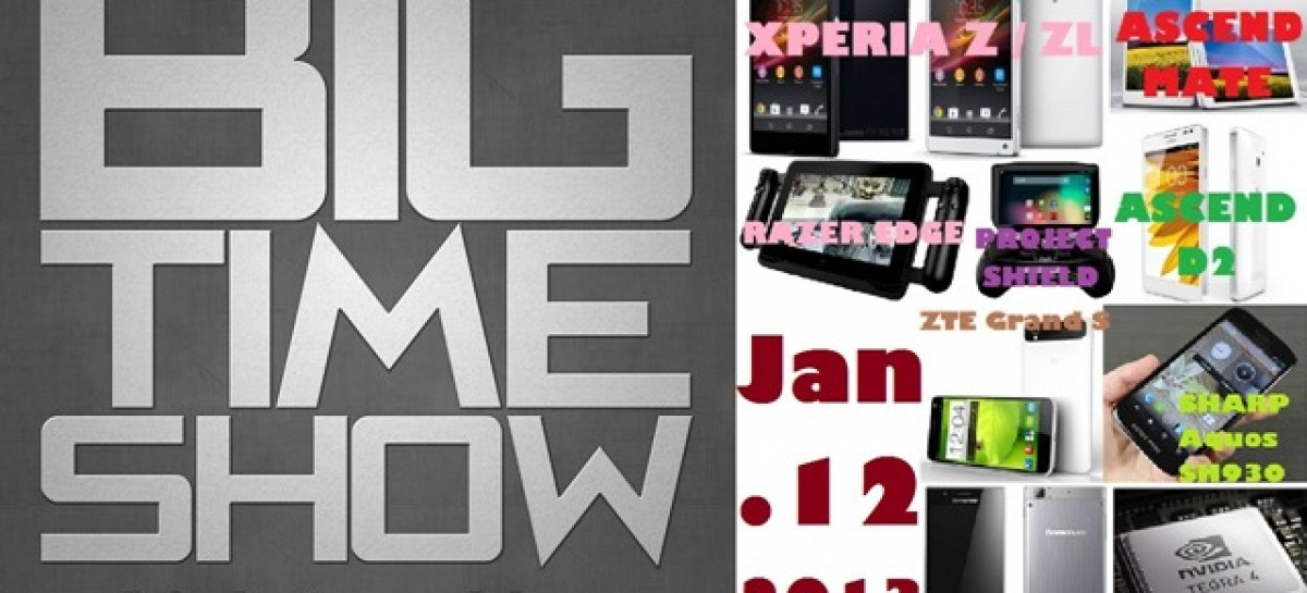 BTS 1/12/2013 – CES New Smartphones, Razer Edge & NVidia Project Shield, & More!